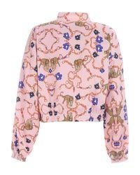 Adidas Originals Pink Track Top Her Studio London Sweatshirt
