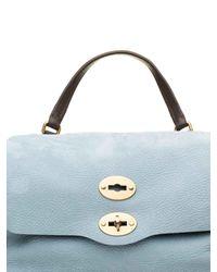 Zanellato Blue Jones Tote Bag