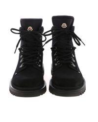Moncler Egide Ankle Boots In Black for men