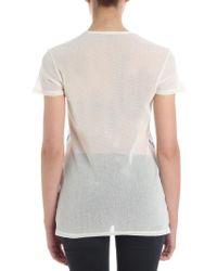 Vivienne Westwood - Blue Blow Me Cotton Mesh T-shirt - Lyst