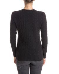 Polo Ralph Lauren - Black Kimberly Sweater - Lyst