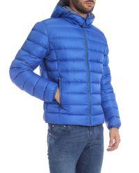 Colmar Concrete Down Jacket In Blue for men