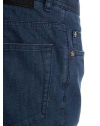 Brioni Blue Five-pocket Jeans for men