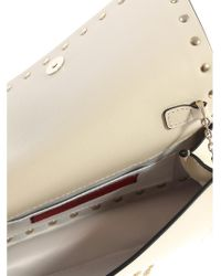 Valentino Natural Clutch With Studs