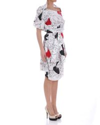 Vivienne Westwood - White Spades And Hearts Dress - Lyst