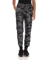 Pantalone Fini Nero E Argento di Fila in Black
