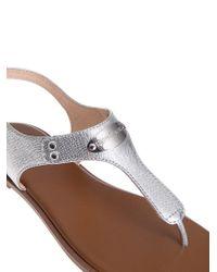 Michael Kors - Multicolor Leather Sandals - Lyst