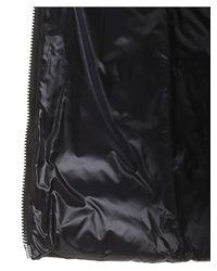 Piumino in tessuto tecnico e lana nero di Herno in Black