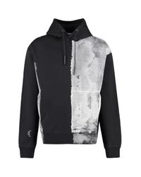 A_COLD_WALL* Black Printed Cotton Sweatshirt for men