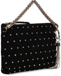 Borsa a mano Callie in pelle con borchie di Jimmy Choo in Black