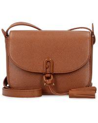 Mini-bag 1927 a tracolla in pelle di Furla in Brown