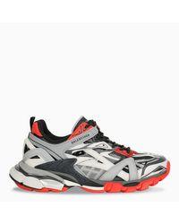 Sneaker Track.2 nera, grigia e rossa di Balenciaga in Multicolor da Uomo