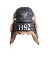 Cappello con pelliccia Winter Stadium di Polo Ralph Lauren in Black da Uomo