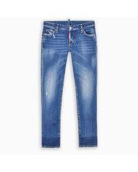 DSquared² Blue Jennifer Skinny Jeans