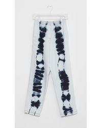 MM6 by Maison Martin Margiela - White Bleach Batik Jeans - Lyst