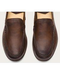 Frye - Brown Lewis Leather Venetian for Men - Lyst