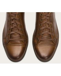 Frye - Brown Justin Low Lace for Men - Lyst