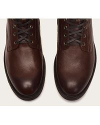 Frye - Brown Bowery Lace Up for Men - Lyst