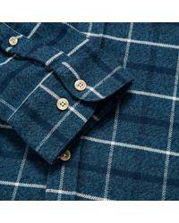Portuguese Flannel Green Briteiro Shirt for men