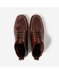 G.H. Bass & Co. Brown G.h.bass & Co Camp Moc Ranger Pull Up Leather for men