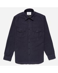 Portuguese Flannel - Blue Campo Shirt for Men - Lyst