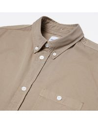 Norse Projects Green Anton Twill Shirt for men