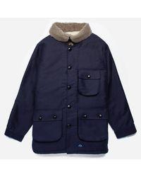 Bleu De Paname - Blue Double Counter Jacket for Men - Lyst