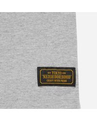 Neighborhood - Gray Metal T-shirt for Men - Lyst