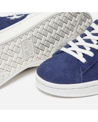 Converse Blue Pro Leather Ox Suede for men