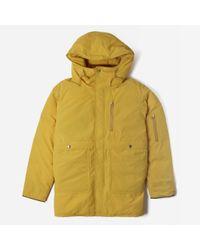 Nanamica Yellow Down Coat for men