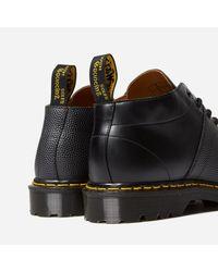 Dr. Martens Black Church Monkey Boot for men