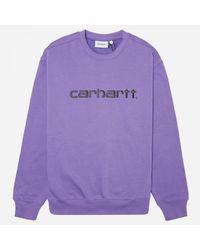 Carhartt WIP Purple Sweatshirt for men