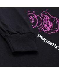 Flagstuff Black Dependence Long Sleeve T-shirt for men