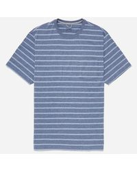 Patagonia Blue Squeaky Clean Pocket T-shirt for men
