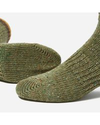 Anonymous Ism Green X Go Hemp Organic Cotton Crew Socks for men