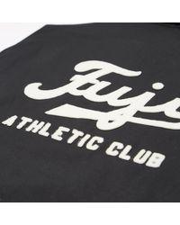 Ebbets Field Flannels - Black Fuji Athletic Club Ground Crew Jacket for Men - Lyst