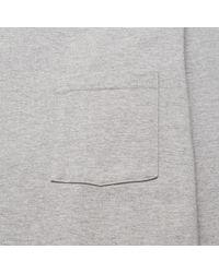 Beams Plus - Gray 25/2 Jersey Crew Pocket T-shirt for Men - Lyst