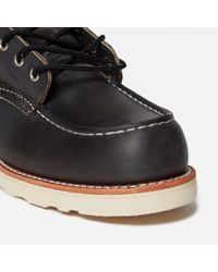 """Red Wing Gray 6"""" Moc Toe Boot for men"""