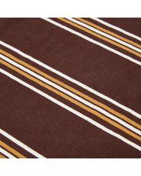Manastash | Brown Nerdy Border Long Sleeve T-shirt for Men | Lyst
