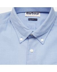 Barbour Blue Casey Shirt for men