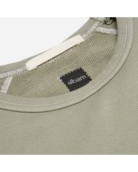 Albam - Green Contrast Stitch Football T-shirt for Men - Lyst
