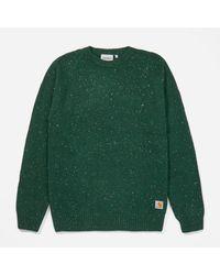 Carhartt WIP Green Anglistic Sweatshirt for men