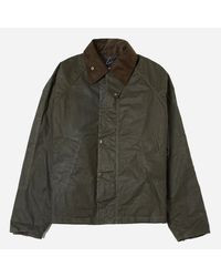 Barbour Green X Engineered Garments Graham Waxed Jacket for men