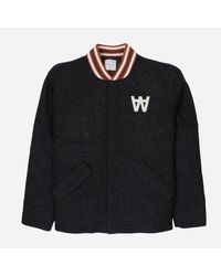 WOOD WOOD Black Anthony Jacket for men