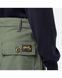 Stan Ray Green 1900 6 Pocket Cargo Chino Pant for men