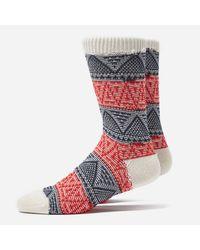 Anonymous Ism Multicolor Mountain Range Crew Socks