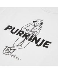 Arpenteur White Ligne Claire Purkinje T-shirt for men