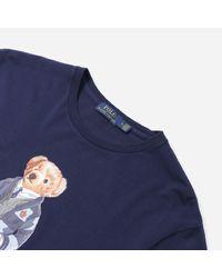 Polo Ralph Lauren Blue Bear T-shirt for men