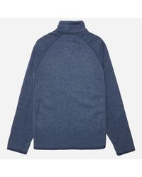 Patagonia Gray 'better Sweater' Zip Front Jacket for men