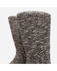 Norse Projects Gray Ebbe Thick Wool Socks for men